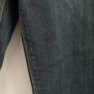 The Limited Jeans - The Limited Dark Wash Skinny Ankle Jeans 0P
